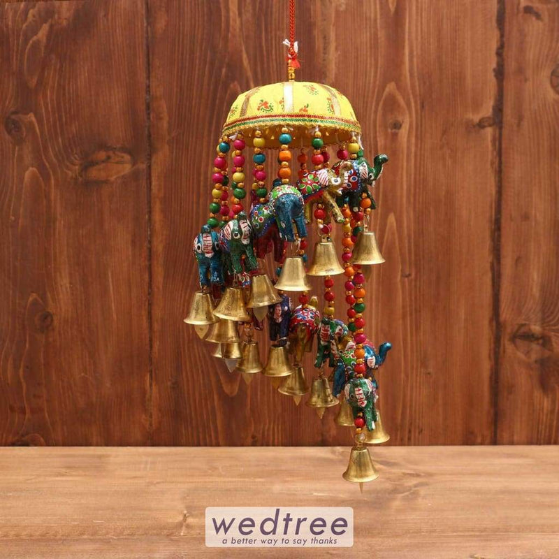 Elephant Thoran With Bell - W3730 Home Decors