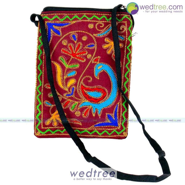 Embroided Sling Bag Bags