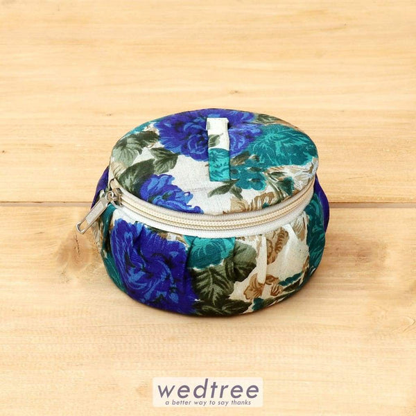 Floral Bangle Box Zipper- W4406 Jewellery Holder