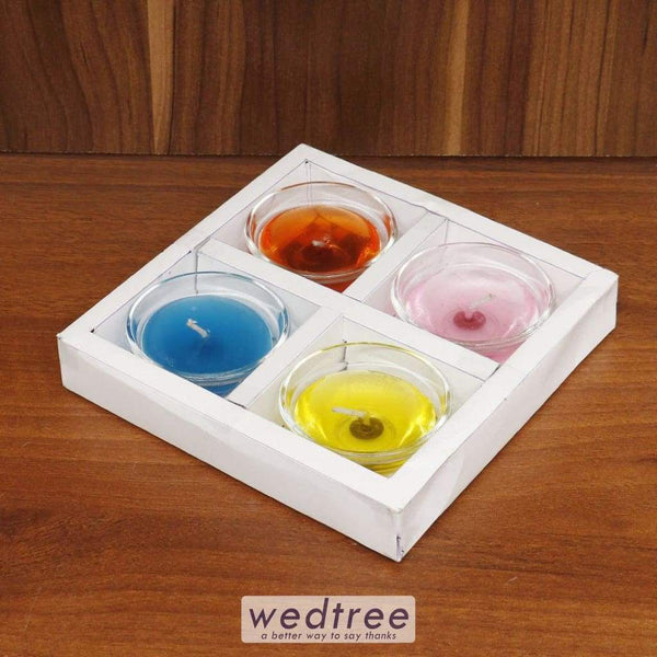 Gell Candle Set Of 4 - W4478 Candles