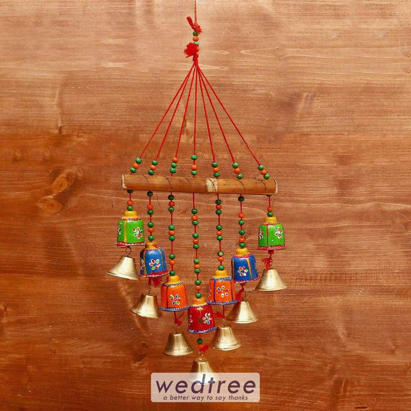Hand Painted Bell Thoran - W3995 Home Decors