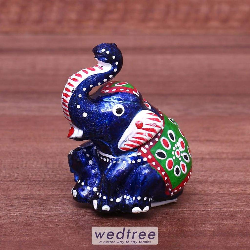 Hand Painted Elephant Small - W4169 Home Decors