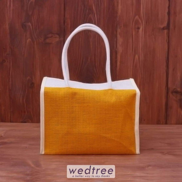 Jute Lunch Bag - W2833 Bags