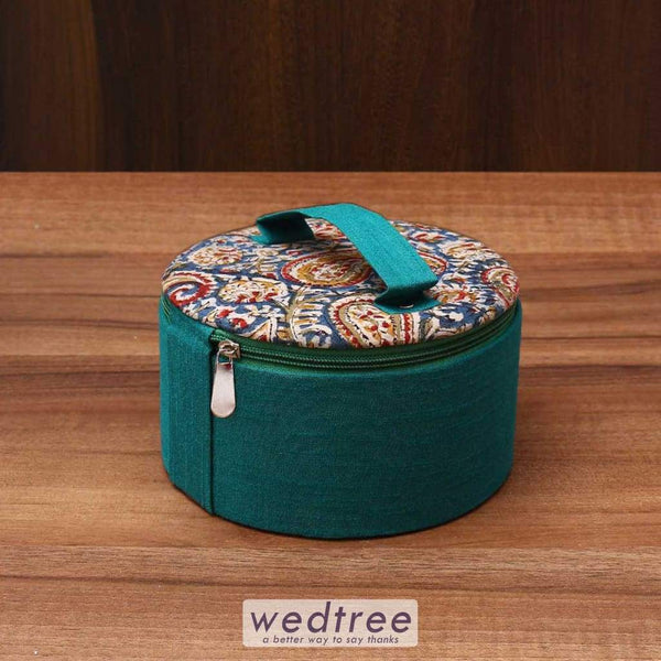 Kalamkari Bangle Box 6.5 Inch - W3601 Jewellery Holder