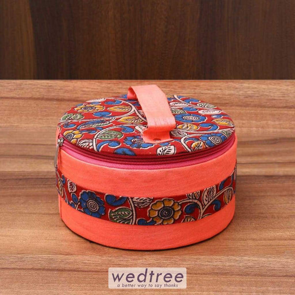 Kalamkari Bangle Box 7.5 Inch - W3602 Jewellery Holder
