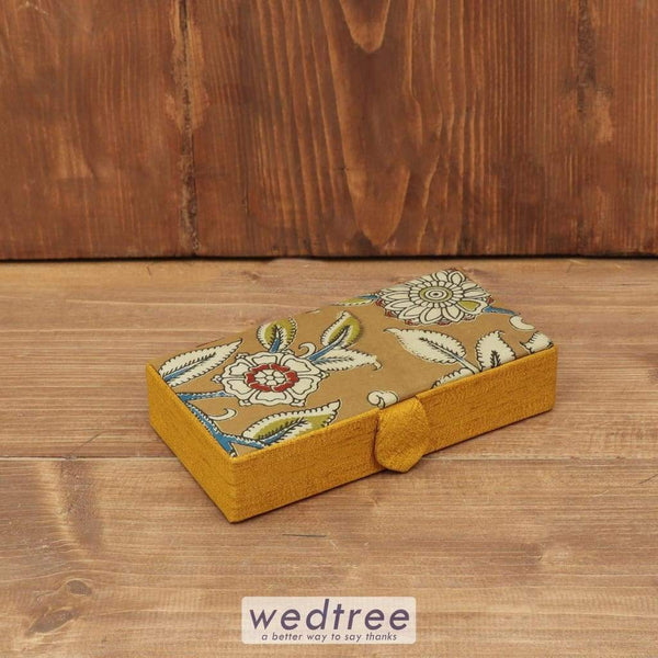 Kalamkari Rectangle Jewel Box - W3787 Jewellery Holder