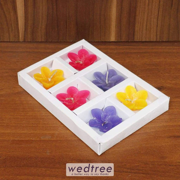 Lilly Candle Set Of 6 - W4482 Candles