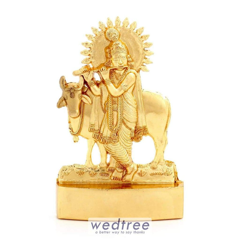 Murthi - Krishna With Cow Big Divine Return Gifts