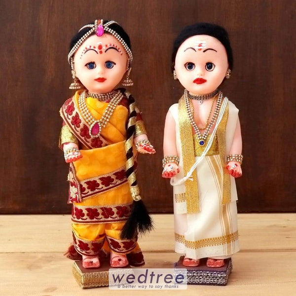Nalangu Doll Iyer Style - W4409 Wedding Essentials