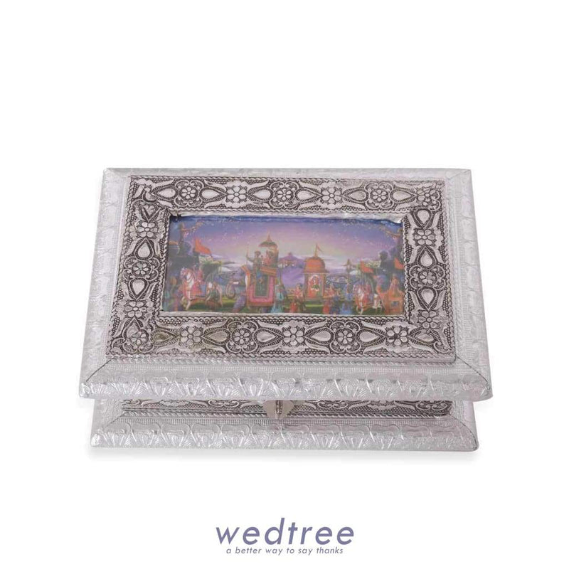 Oxidised Photo Box - Medium Utility Return Gifts