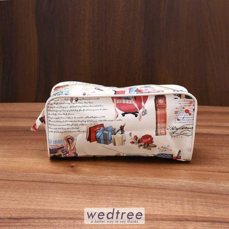 Pencil Pouch Digital Print With Piping - W3547 Utility Return Gifts
