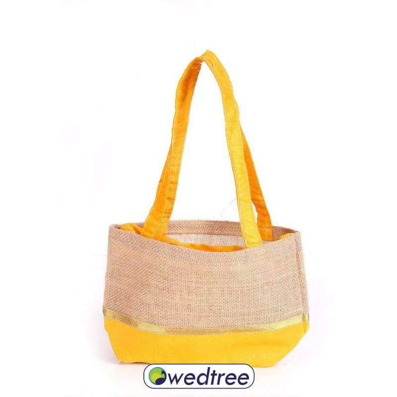 Potli Bag Raw Silk And Jute Bags