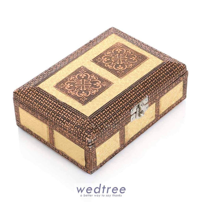 Rexin Jewel Box - 7X5 W2954 Jewellery Holder