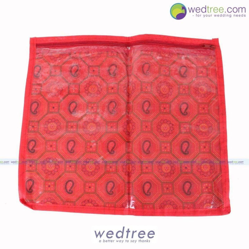 Saree Cover Plain Fabric Bags
