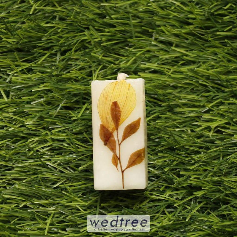 Square Pillar Scented Candle Big - W4567 Candles