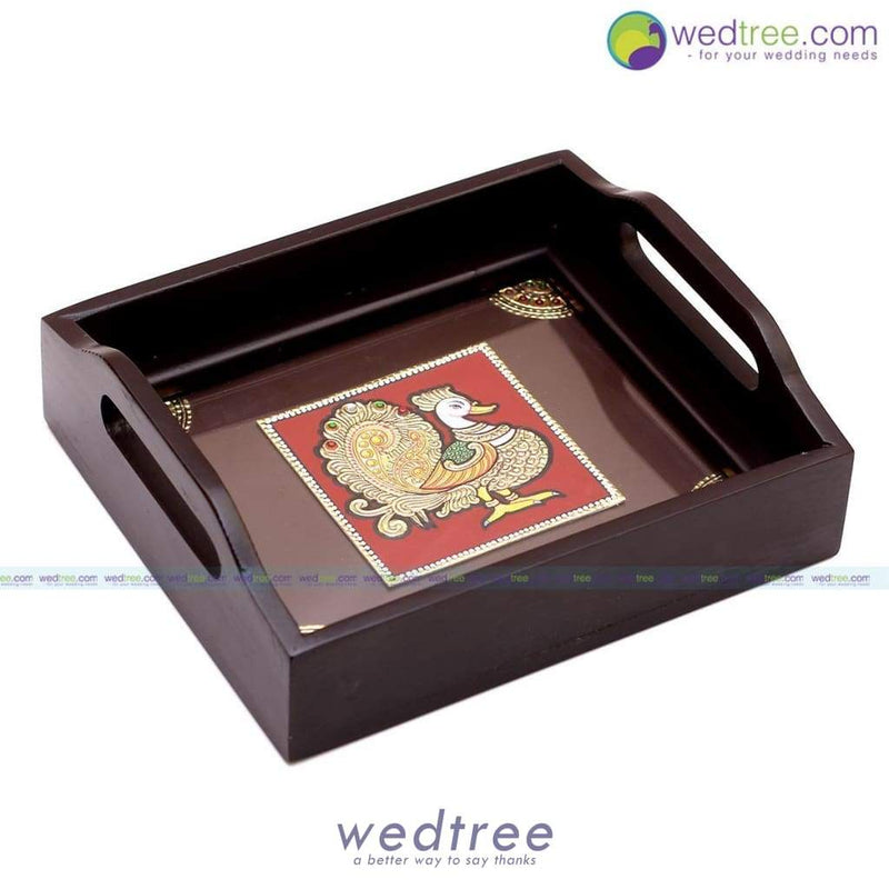 Tanjore Painting Tray Trays & Plates