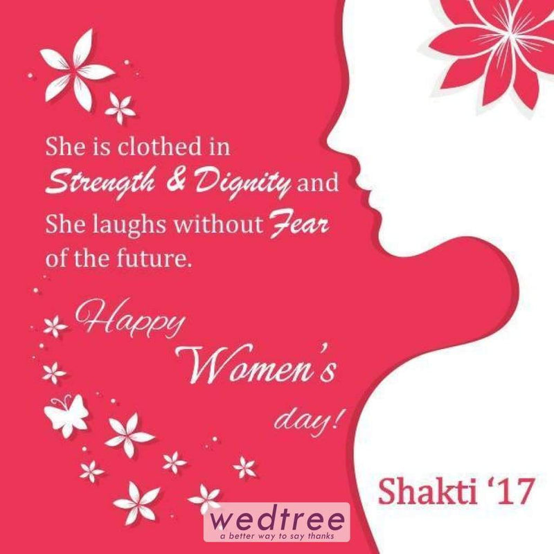 Thank You Card - Womens Day