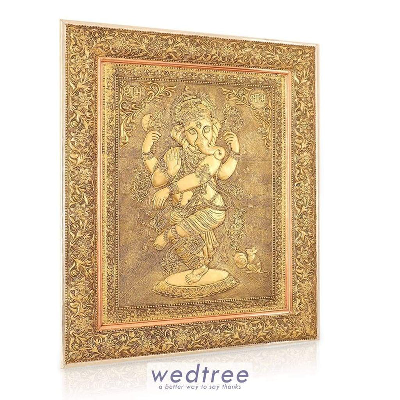 Wall Hanging - Oxidised Ganesha 23 Inch Home Decors