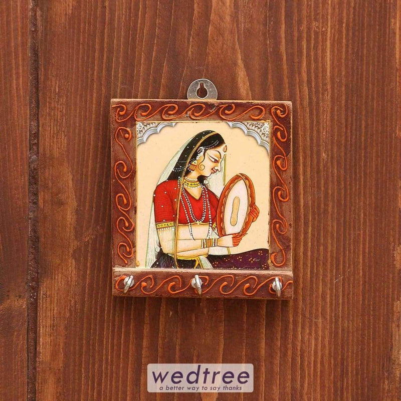Wooden 3D Print Key Hanger Assorted Design Small - W3728 Key Hangers