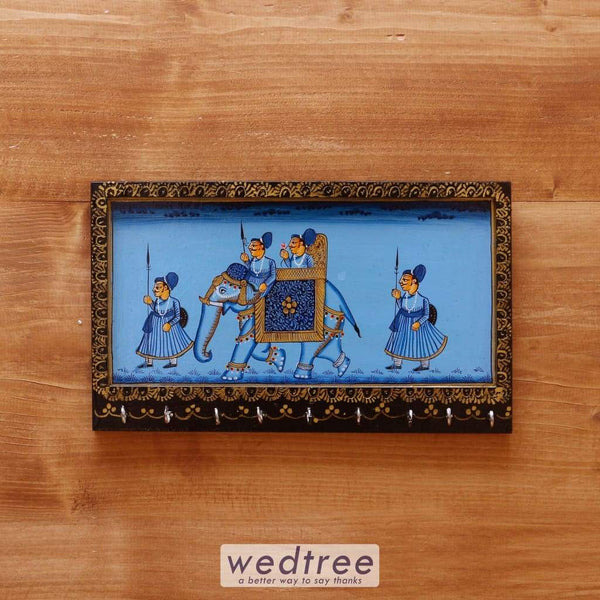 Wooden Hand Painted Key Hanger 12 Inch - W4095 Hangers