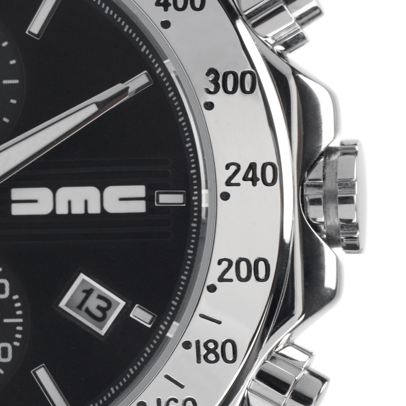 DMC Watches Leather Strap / gb 1981 Black Chronograph