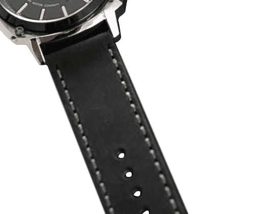 DMC Watches replacement straps Alpha Black Strap