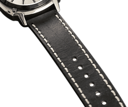 DMC Watches replacement straps Alpha Silver Strap