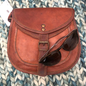 Handbag leather saddlebag m bag