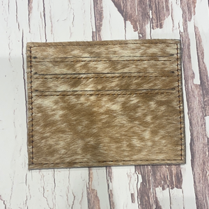Cowhide Card Holder #7