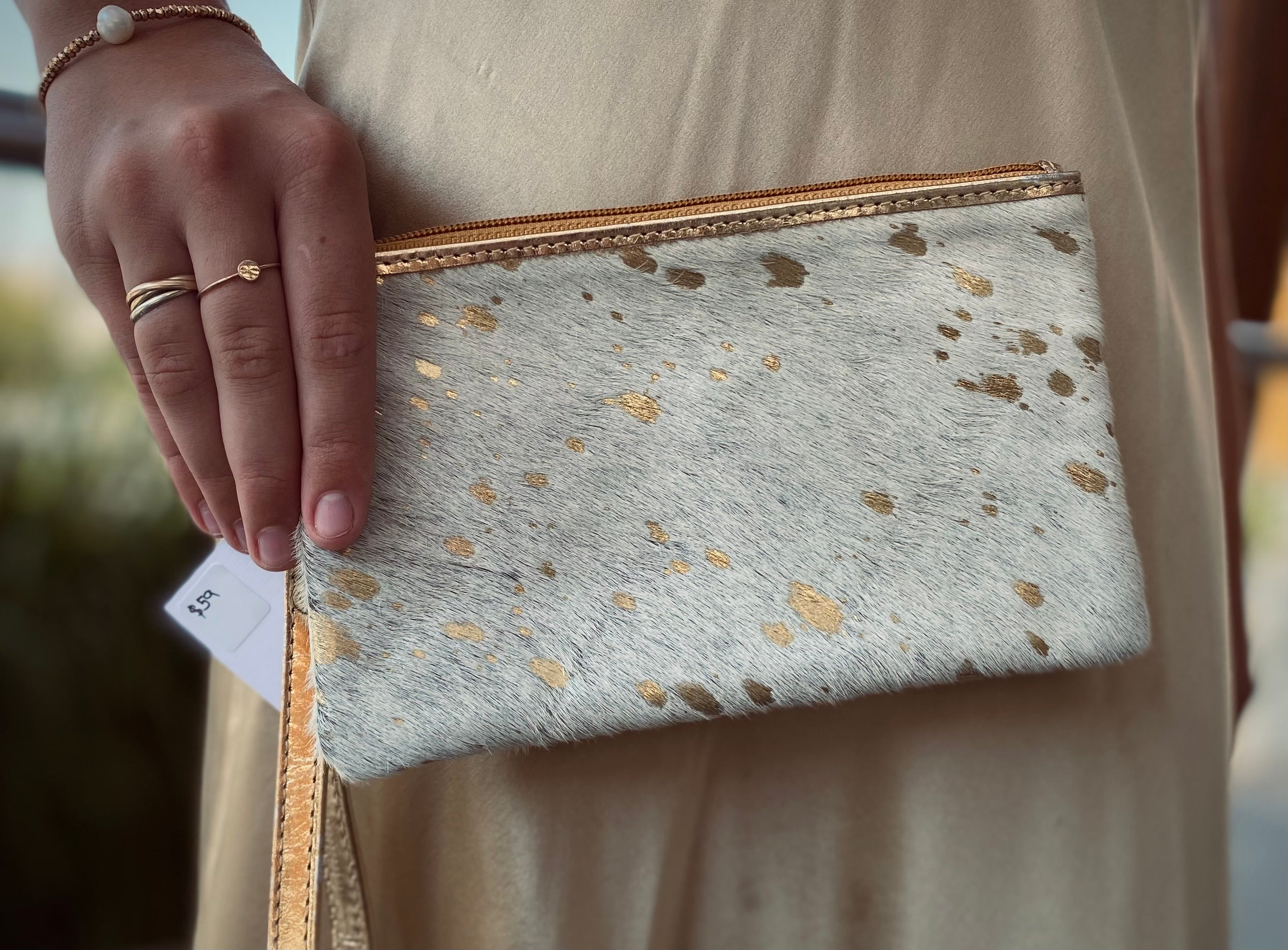 The Golden Girl clutch