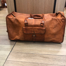 Weekender Leather Bag (large)