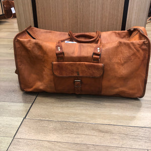 Leather Weekender Bag (large)