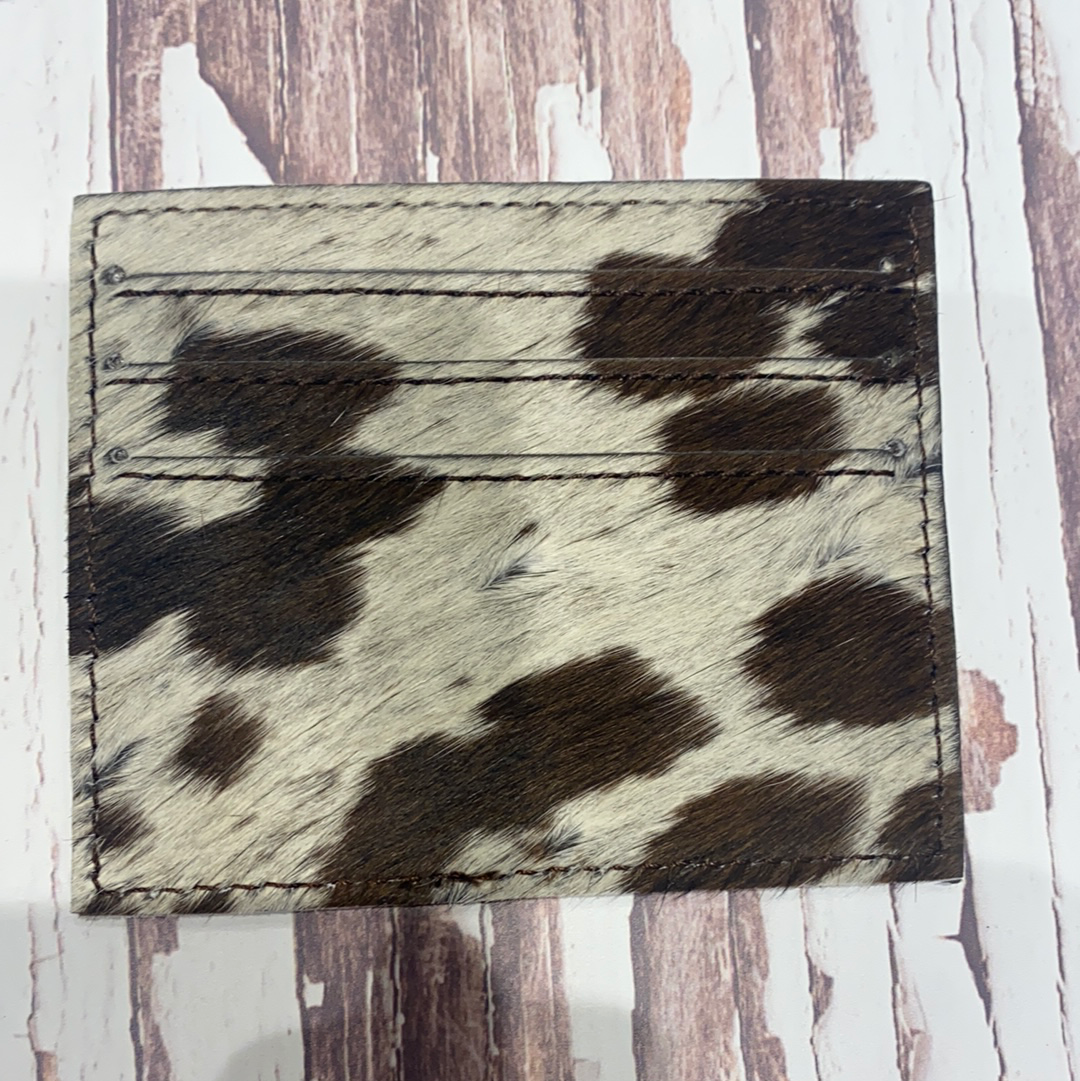 Cowhide Card Holder #3