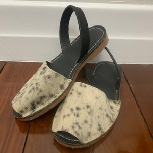 Cowhide Shoes Sling Back 37 IN STOCK