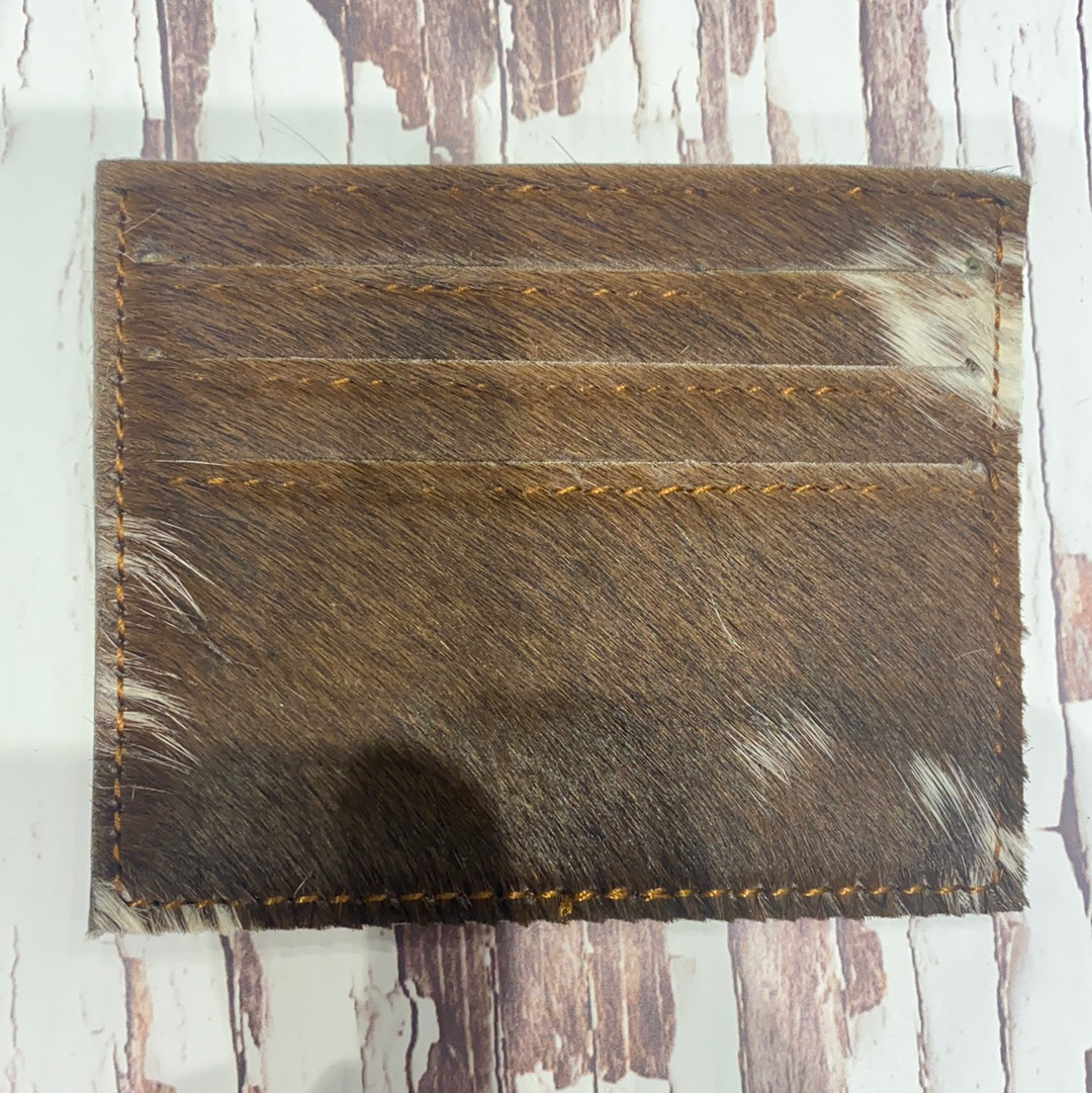Cowhide Card Holder #4