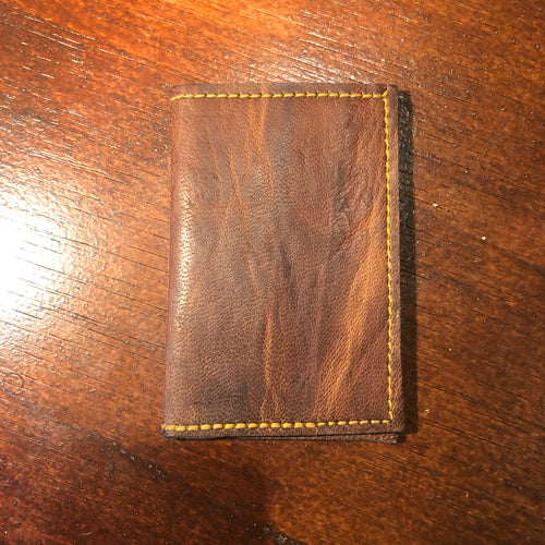 Card Wallet Raw Leather