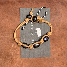 Natural Brown and Freshwater Pearl bracelet