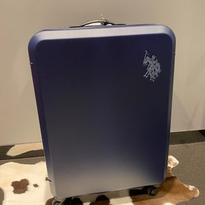 NAVY US POLO ASSN. SUITCASE LARGE