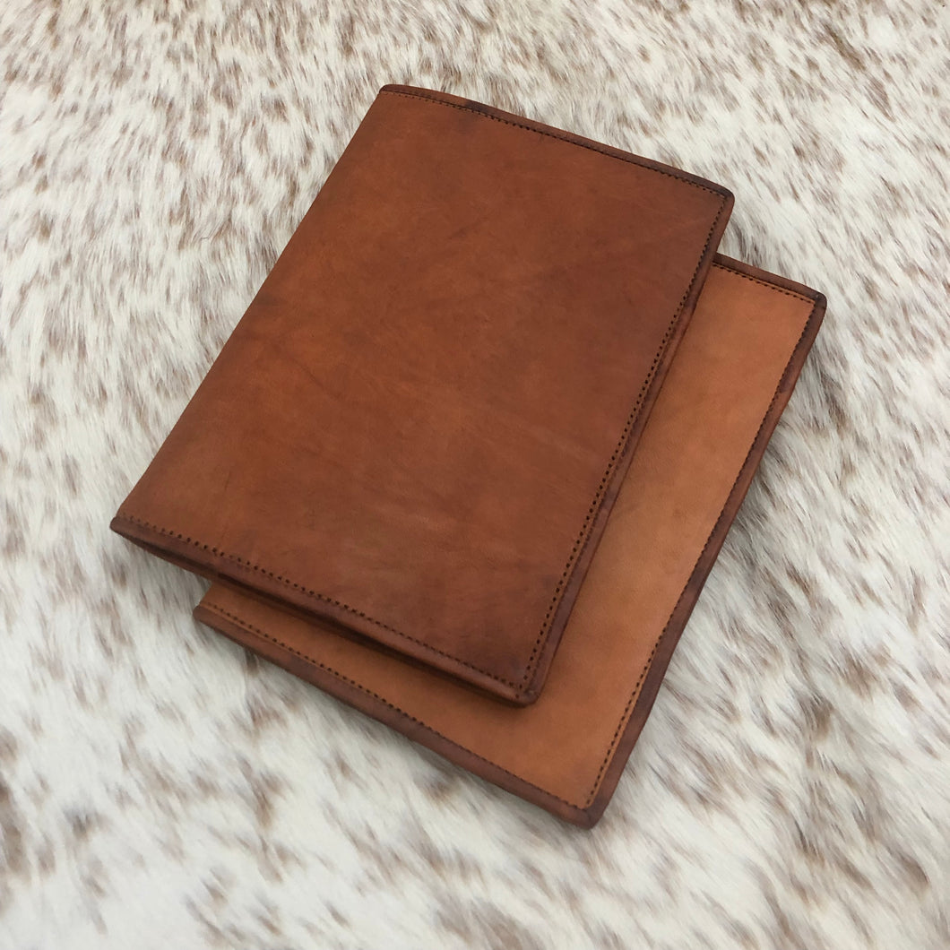 Leather A5 Notebook Cover