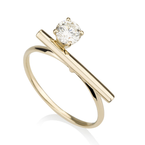 Iconic Line Ring - Diamond