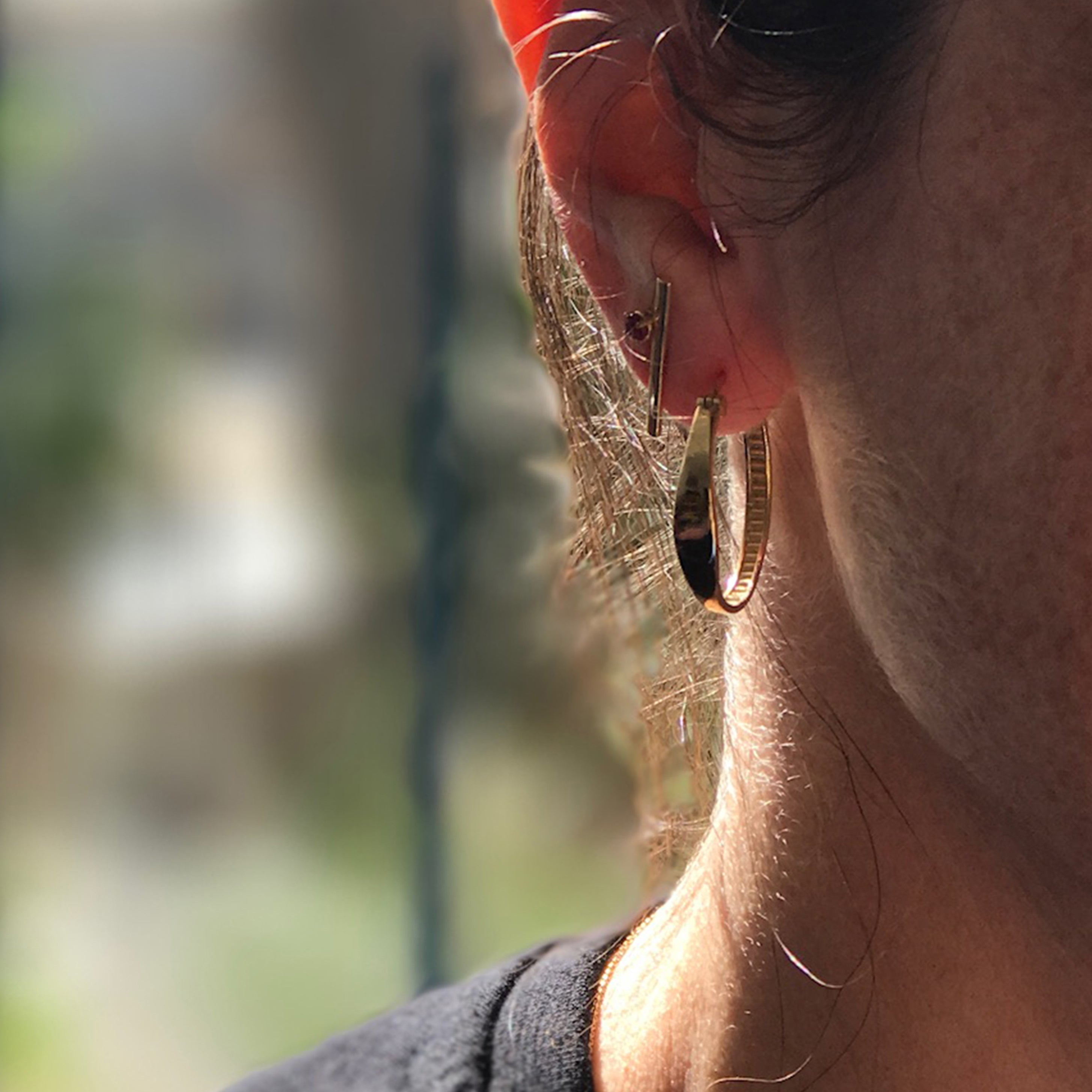 Tal's Hoop Earrings