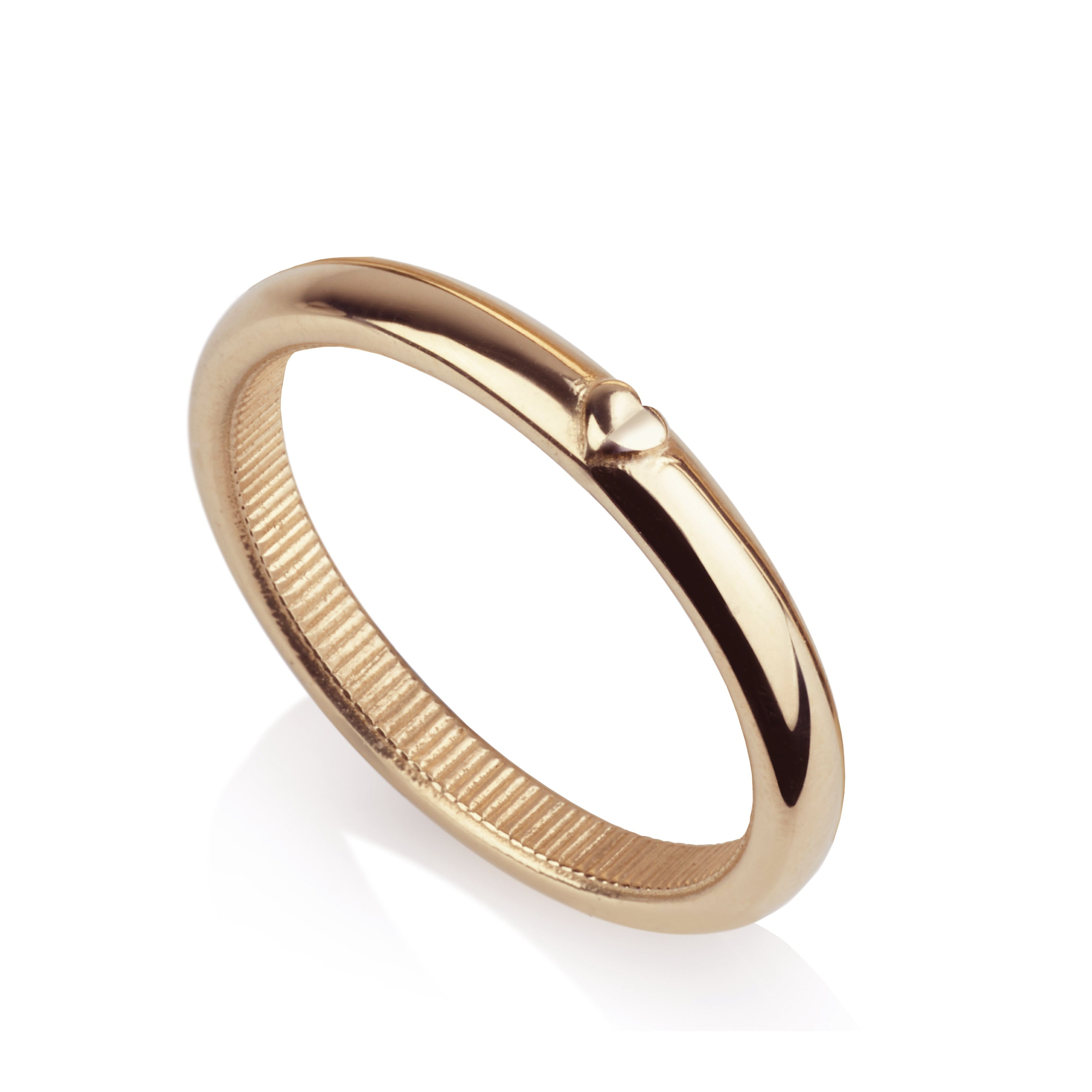 Hearted Ring Band