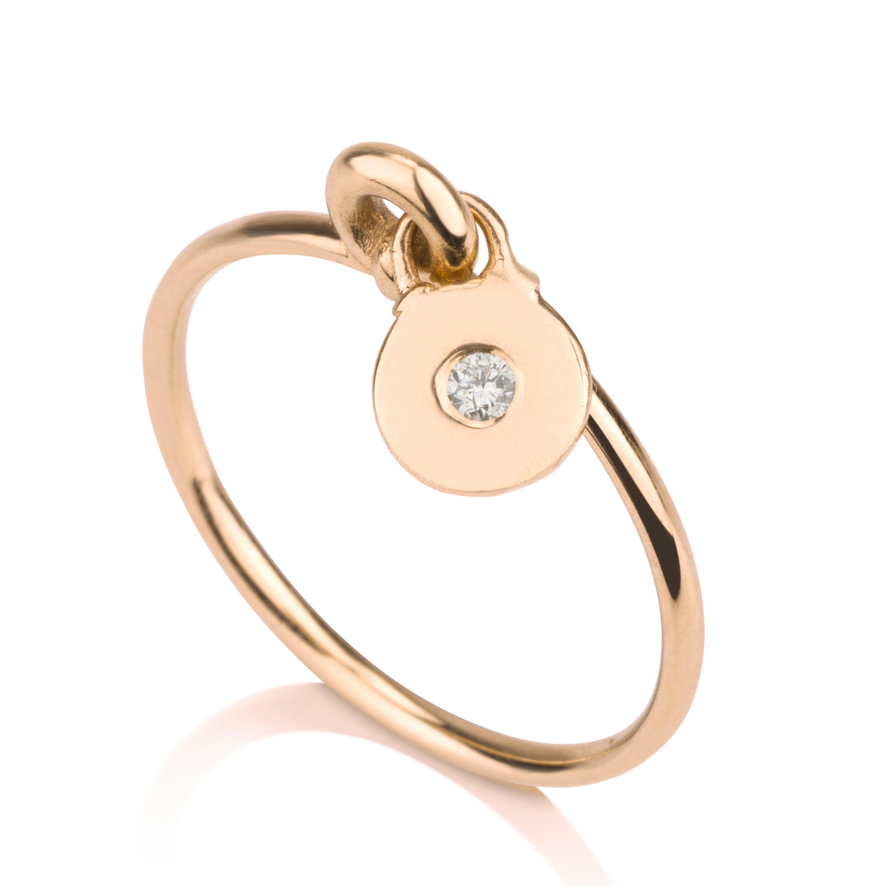 Charm Ring - Diamond