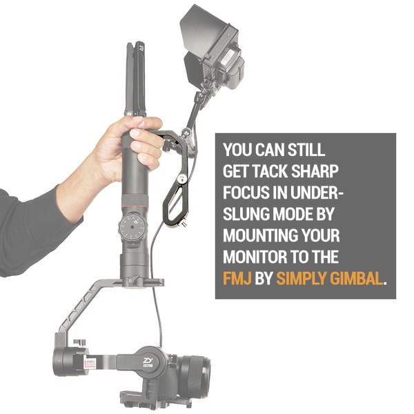 FMJ Handheld Gimbal Adapter for Mounting Monitors, Microphones & Accessories to your Gimbal