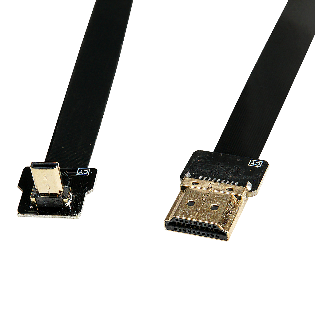 "SG ""Feather-Lite"" 90 Degree HDMI Cable for Gimbal Use"