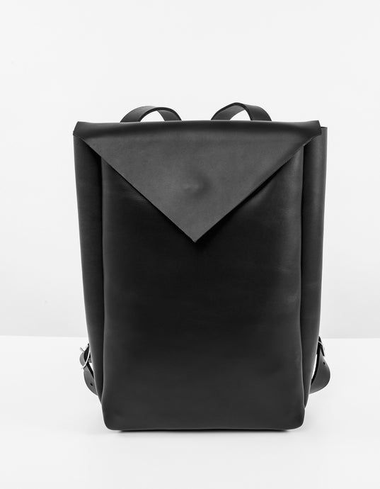 ERIKAHOC Water Resistant Leather City Backpack