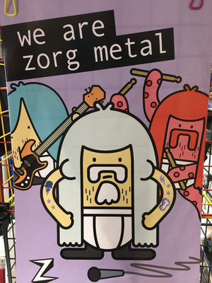 'we are zorg metal' Poster