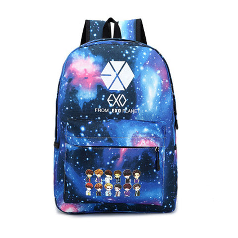 EXO Colorful Canvas Backpack