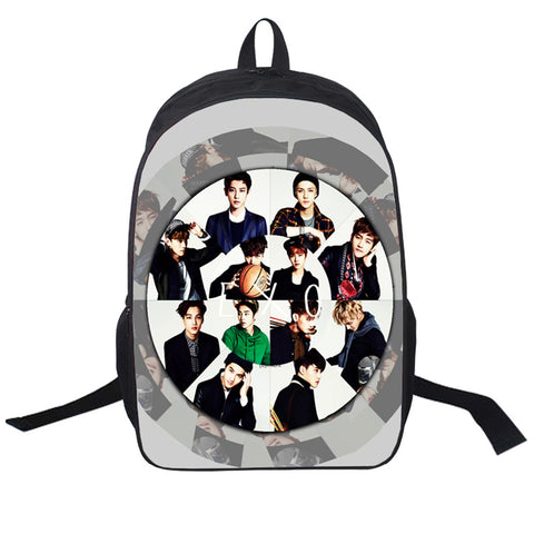 EXO Boy Group Printed Bags 2017