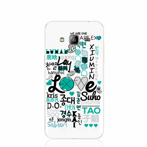 EXO Band Fashion Phone Case Cover (SAMSUNG J SERIES)